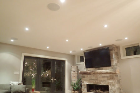 Chicago Security Expert hard wire speakers installation security systems