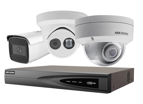 HIK Vision Security cameras system