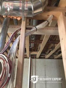 pre-wiring a house