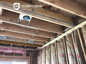 security system for pre wired home